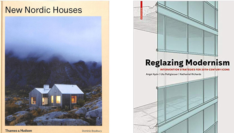 Bilde av boka New Nordic Houses og Reglazing Modernism