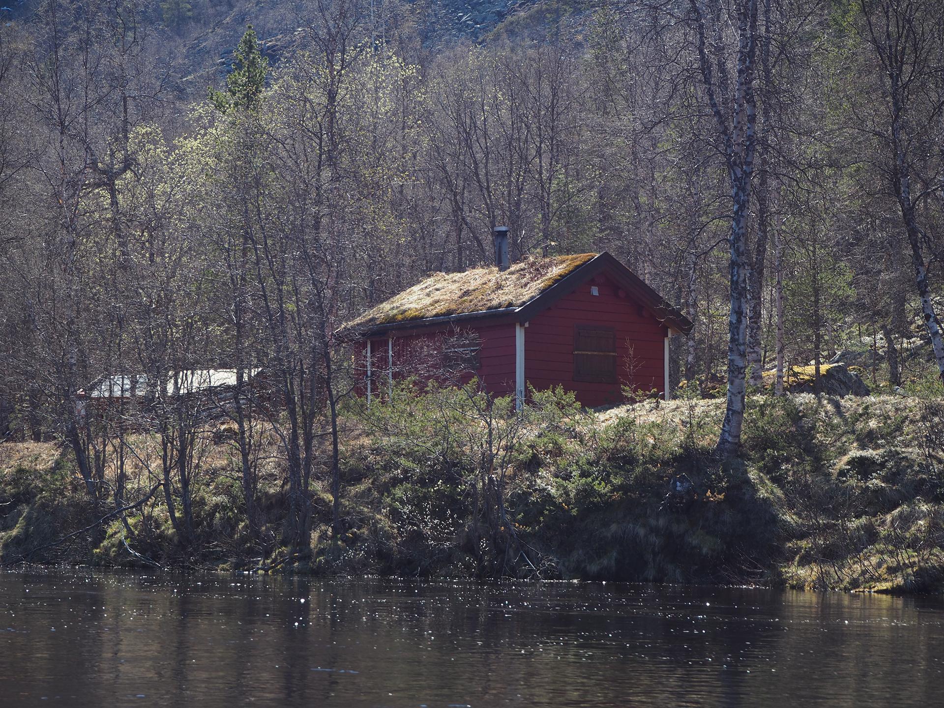 bilde fra Reisadalen, tatt på befaring i forbindelse med etablering av Historisk vandrerute. Foto: Louise Brunborg-Næss