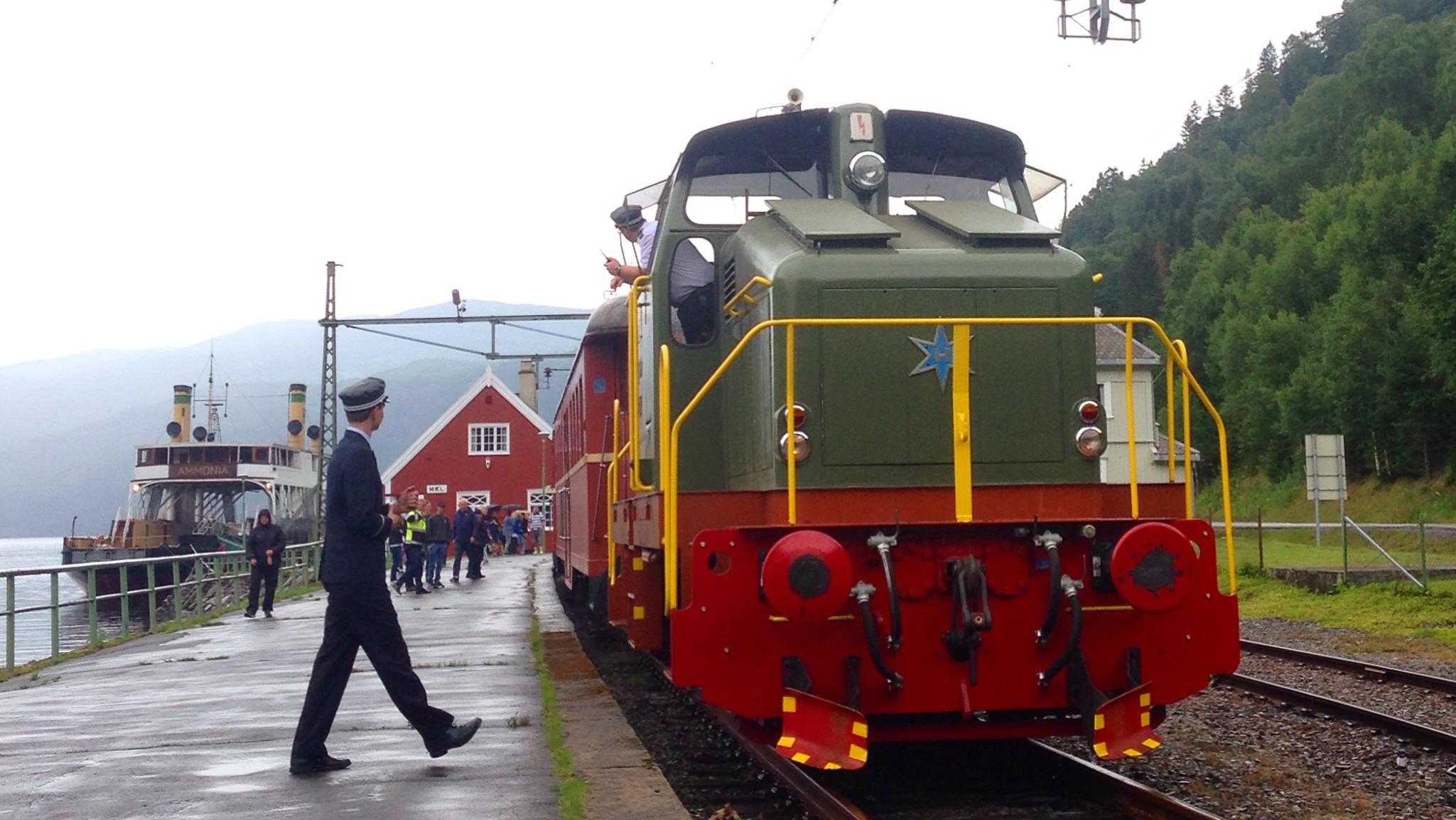 Bilde viser Rjukanbanen. Foto er fra Riksantikvaren