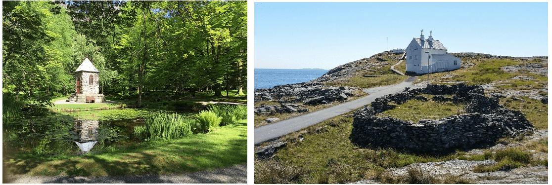 Parken i Baroniet, Rosendal og Fjøløy fyr, Rennesøy