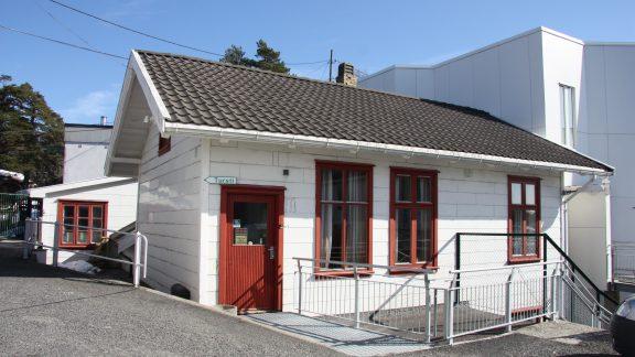 Bilde viser Forskningsstasjonen ved Flødevigen. Foto er lånt fra Statsbygg