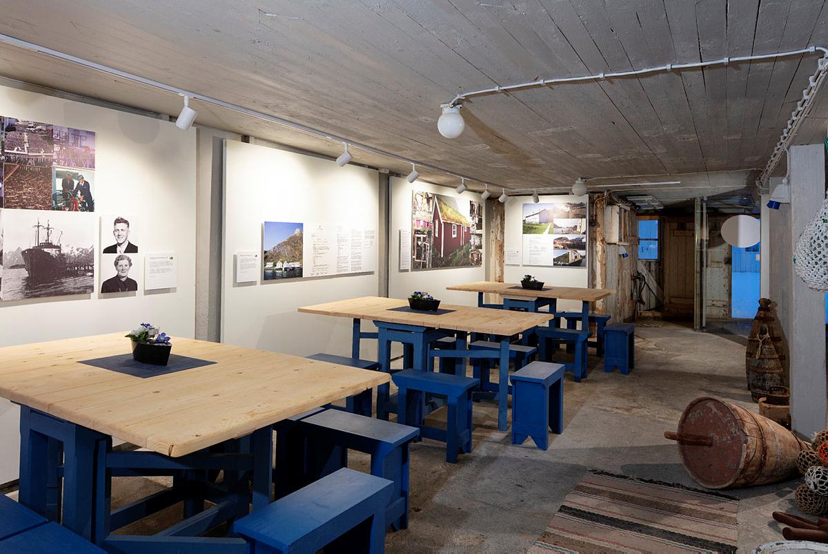 Dokumentasjonssenter og kafé ferdig i 2019. Foto: Trond A. Isaksen