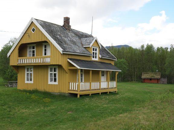 Bilde av Tørfoss kvengård, Kuivakoski, hovedbygningen fra 1931. Foto: Ståle Arfeldt Bergås, Riksantikvaren