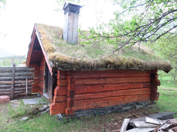 Bilde av Tørfoss kvengård, Kuivakoski, røykbadstu. Foto: Cathrine Skredderstuen Rolland, Riksantikvaren