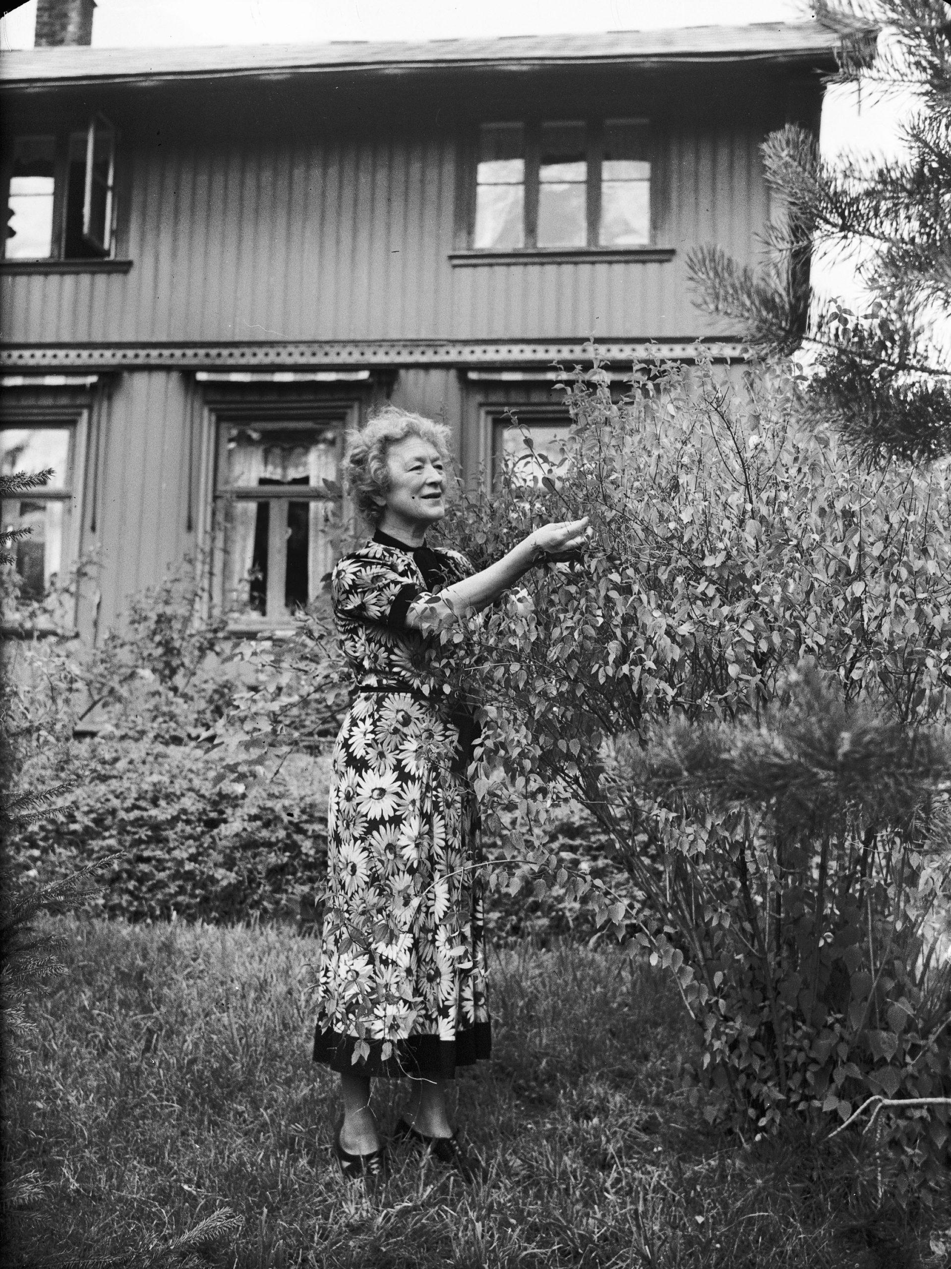 Bilde av Villa Gro Gro Og Lalla Carlsen. Foto er tatt av Leif Ørnelund, Oslo Museum