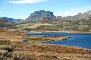Landskapsbilde av Ål