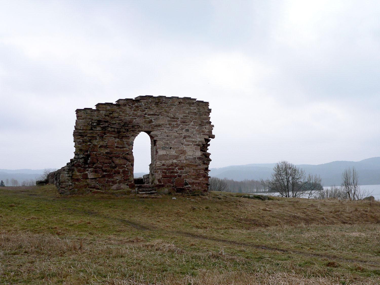 Margaretakirken ruin i Maridalen, Oslo