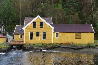 Sellevåg treskofabrikk eksteriørfoto