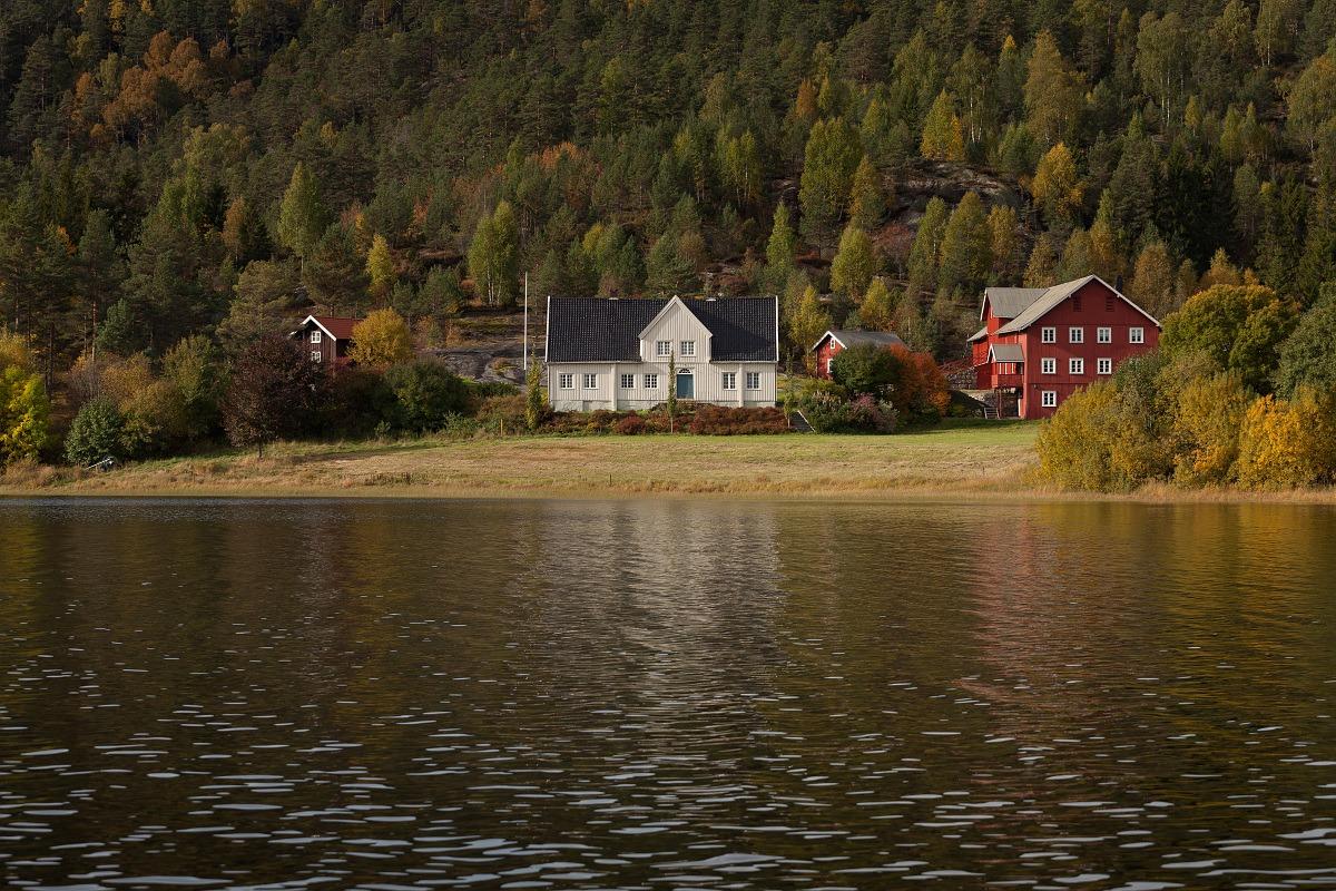Skrivergården på Nes i Herefoss