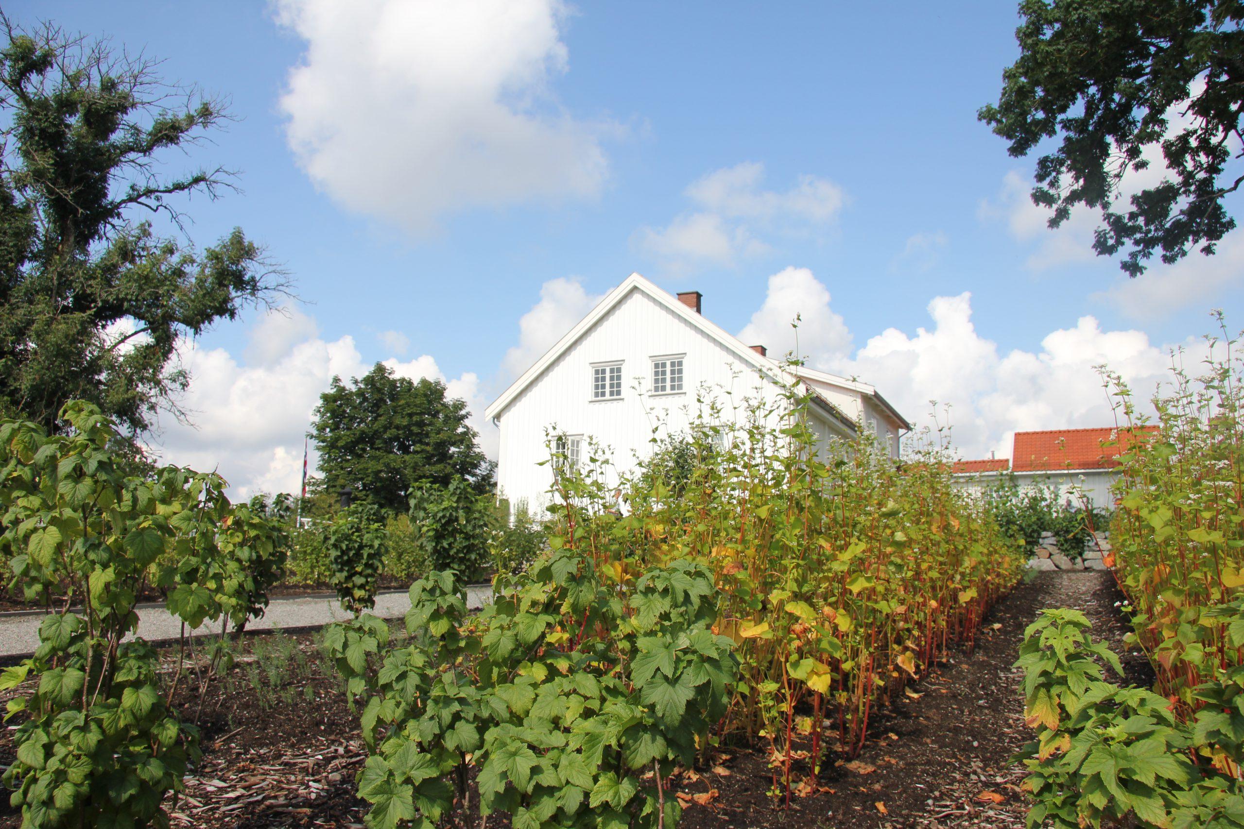 Spydeberg prestegård med hage