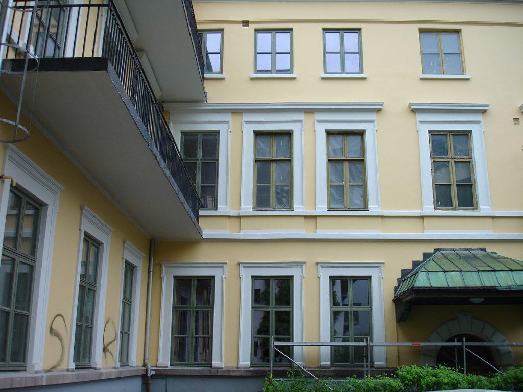 Administrasjonsbygning, tidligere Rikshospitalet i Oslo