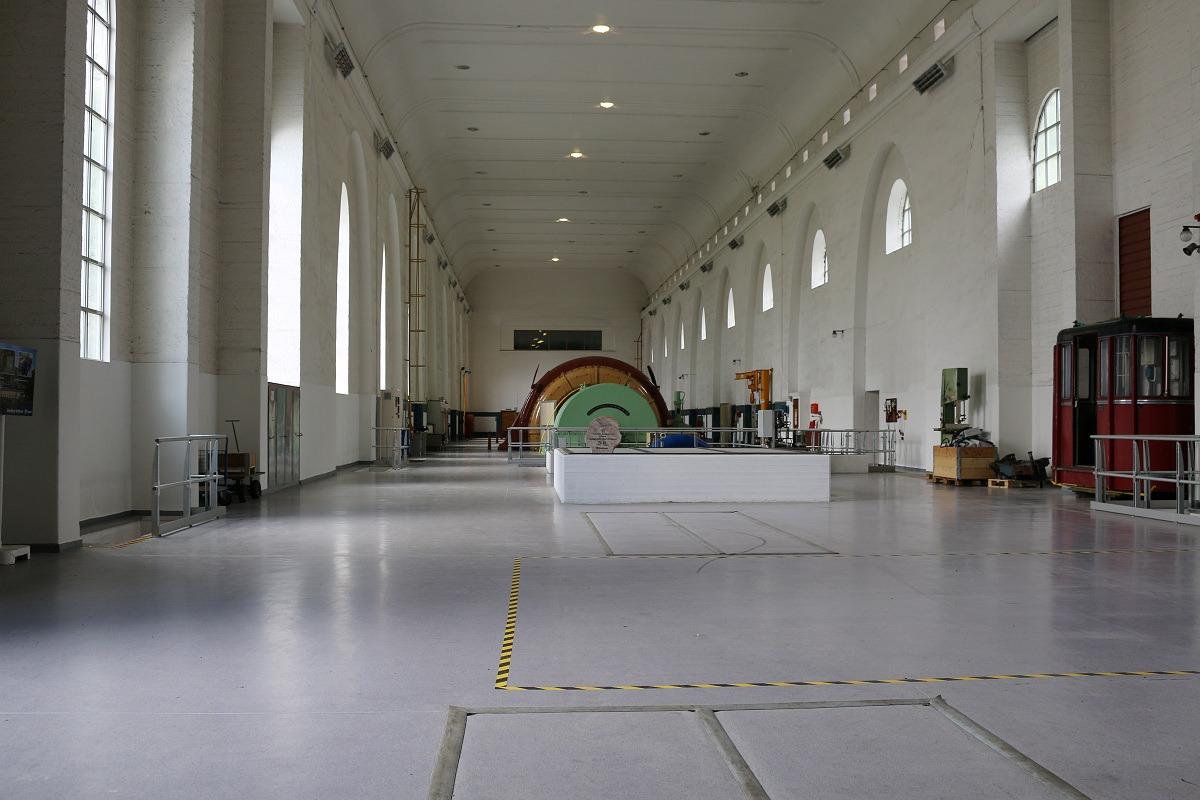 Interiør Glomfjord kraftverk