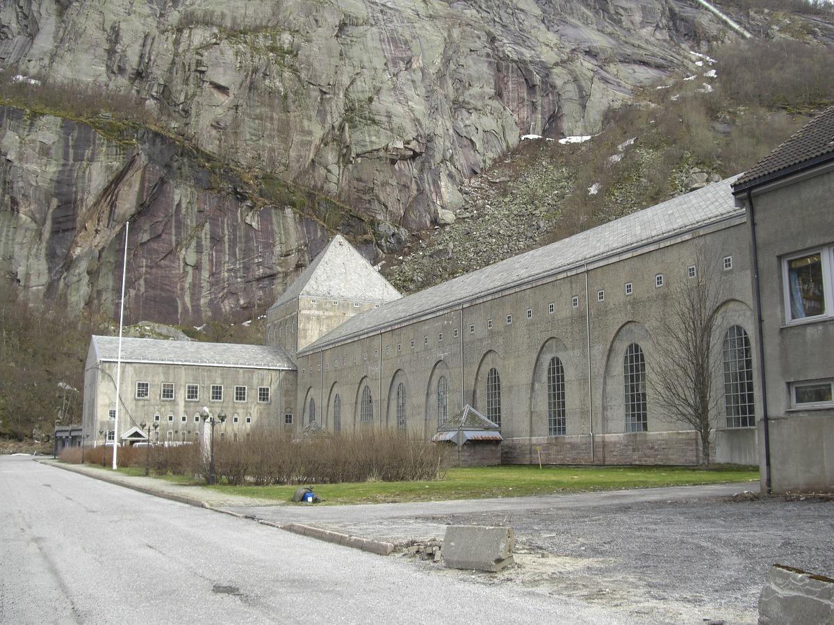Glomfjord kraftverk