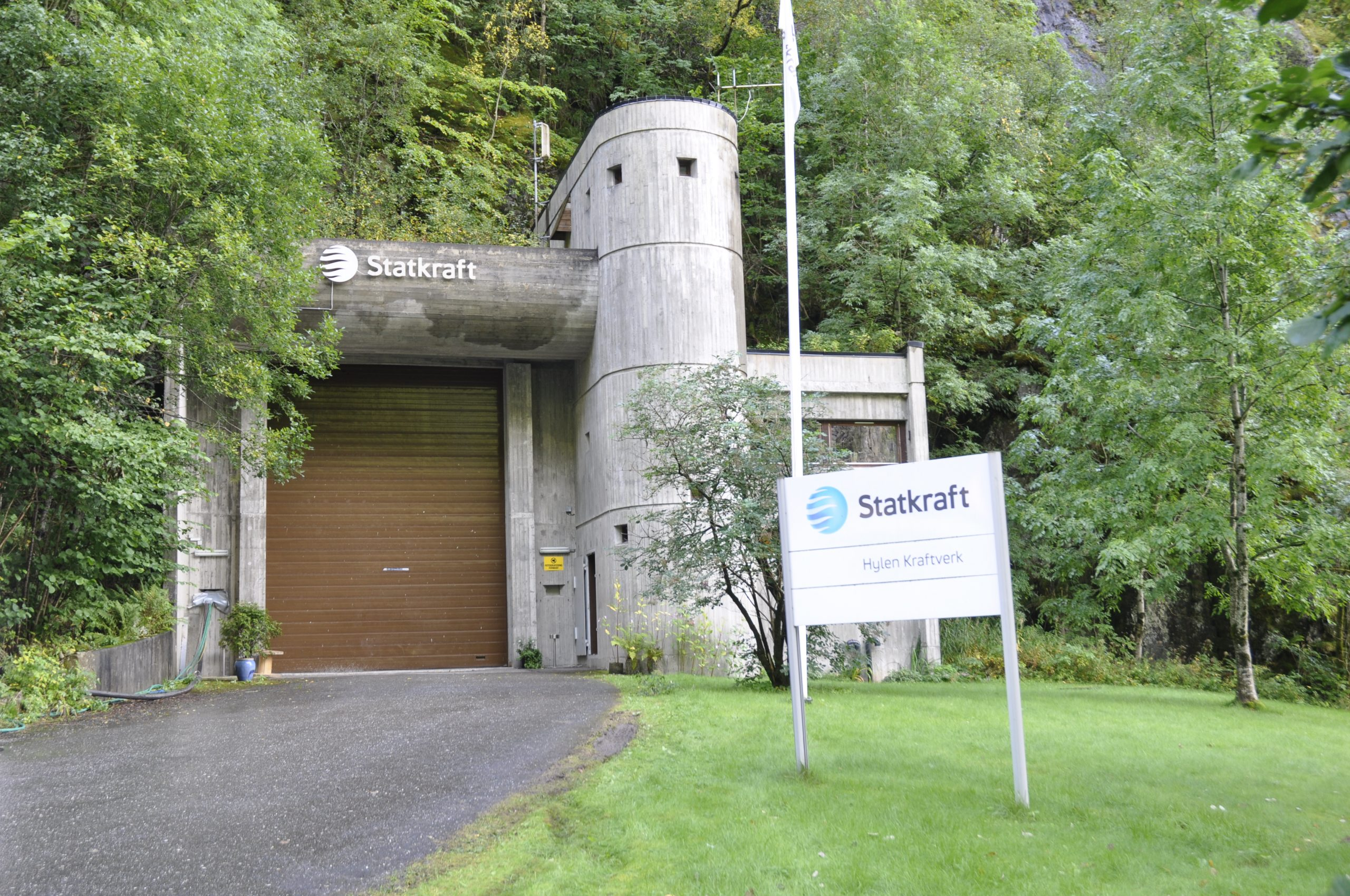 Portalbygg Hylen kraftstasjon