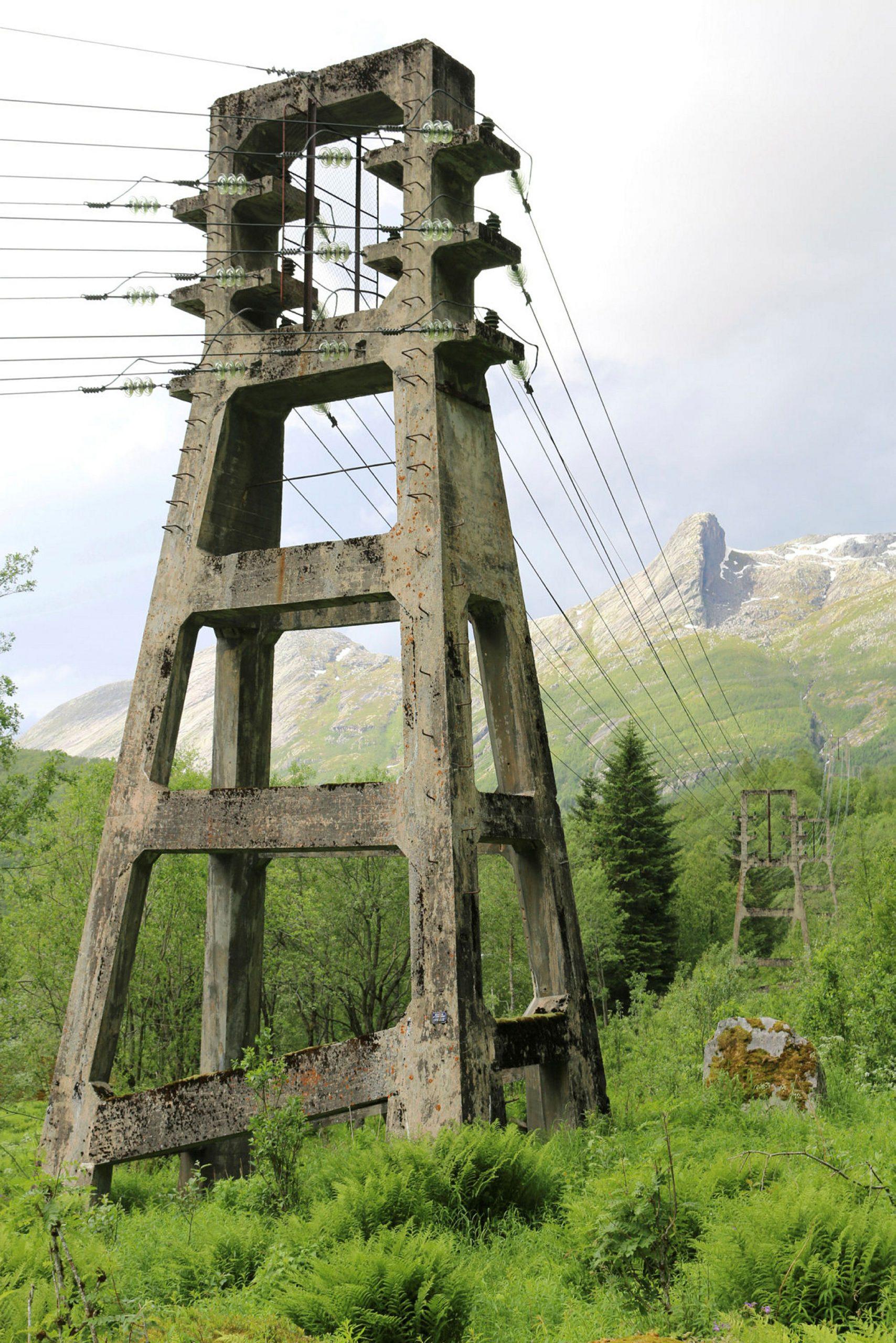 Kraftledning, Fykan-Haugvik