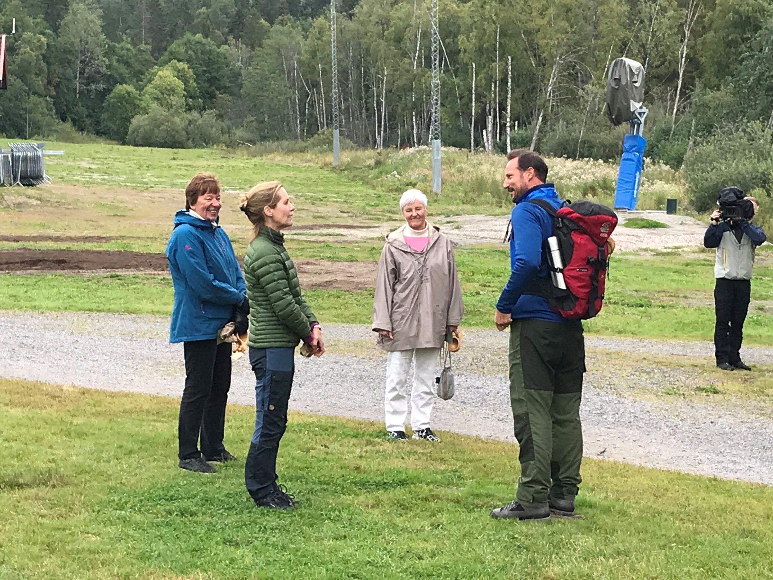 Ordfører i Oslo Marianne Borgen, riksantikvar Hanna Geiran, fylkesmann Valgerd Svarstad Haugland og H.K.H. Kronprins Haakon