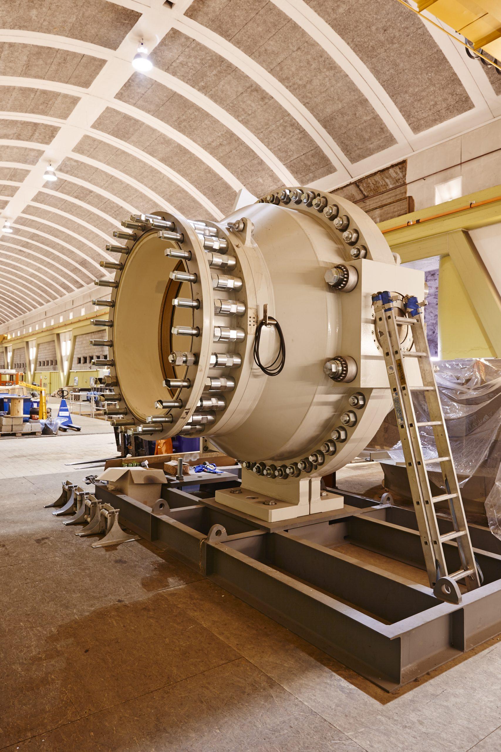 Nedre Røssåga turbin