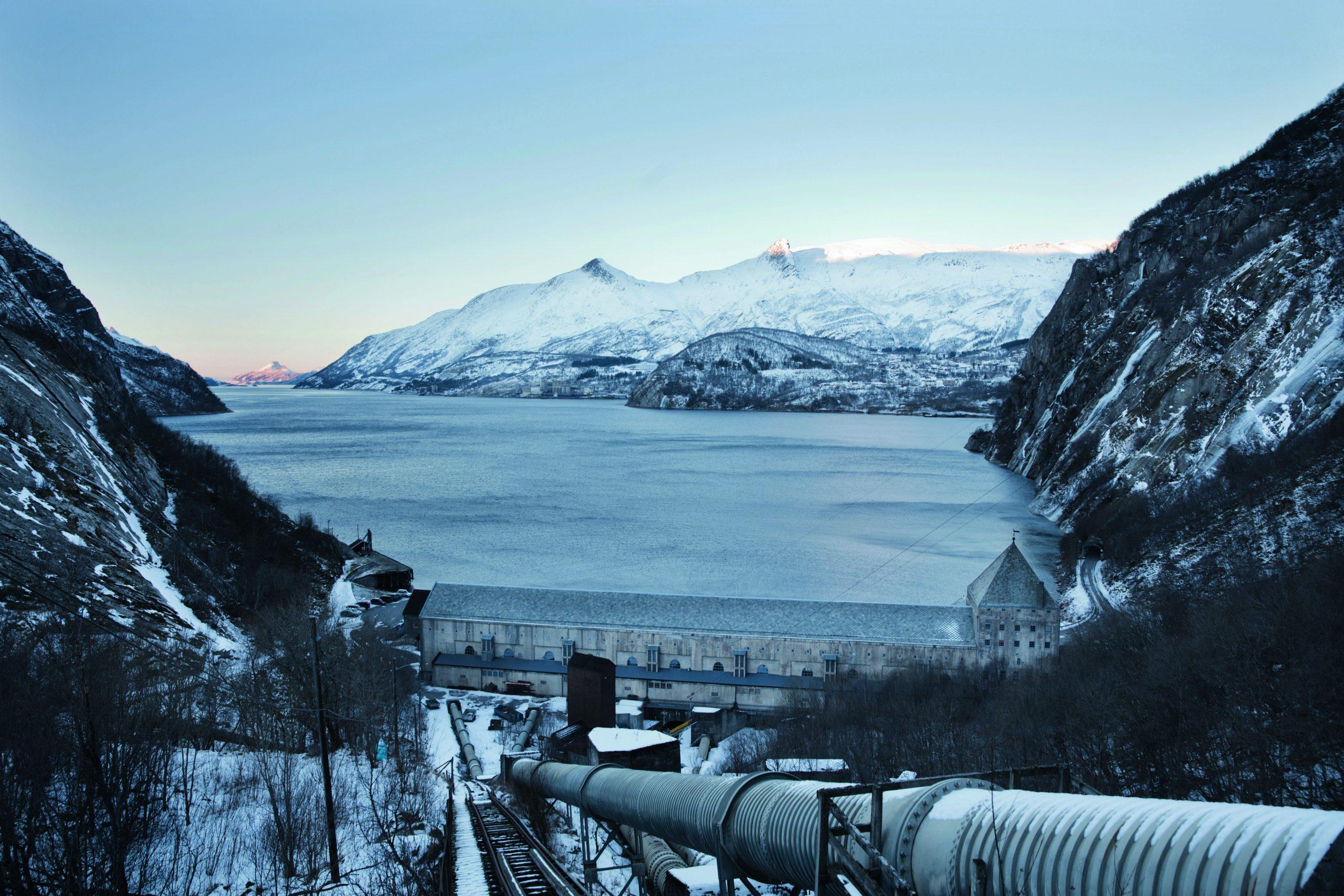 Rørgaten Glomfjord kraftverk