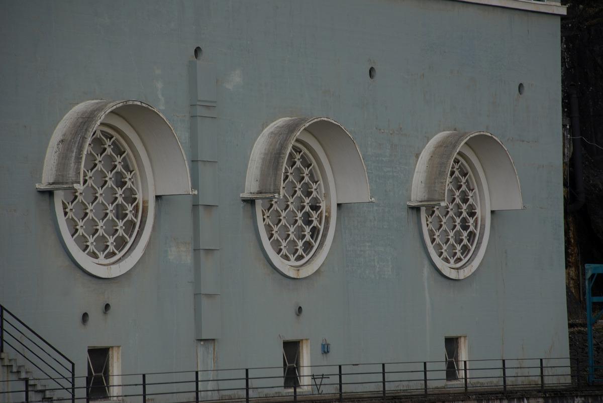 Sauda III fasade i art deco-stil