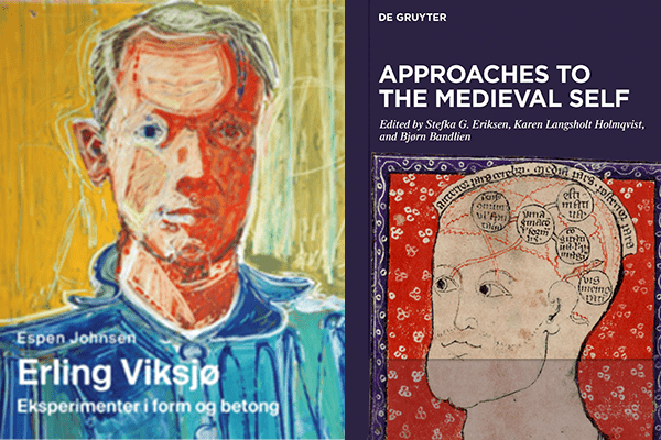 Bilde av bøkene Erling Viksjø og Approaches to the medieval self