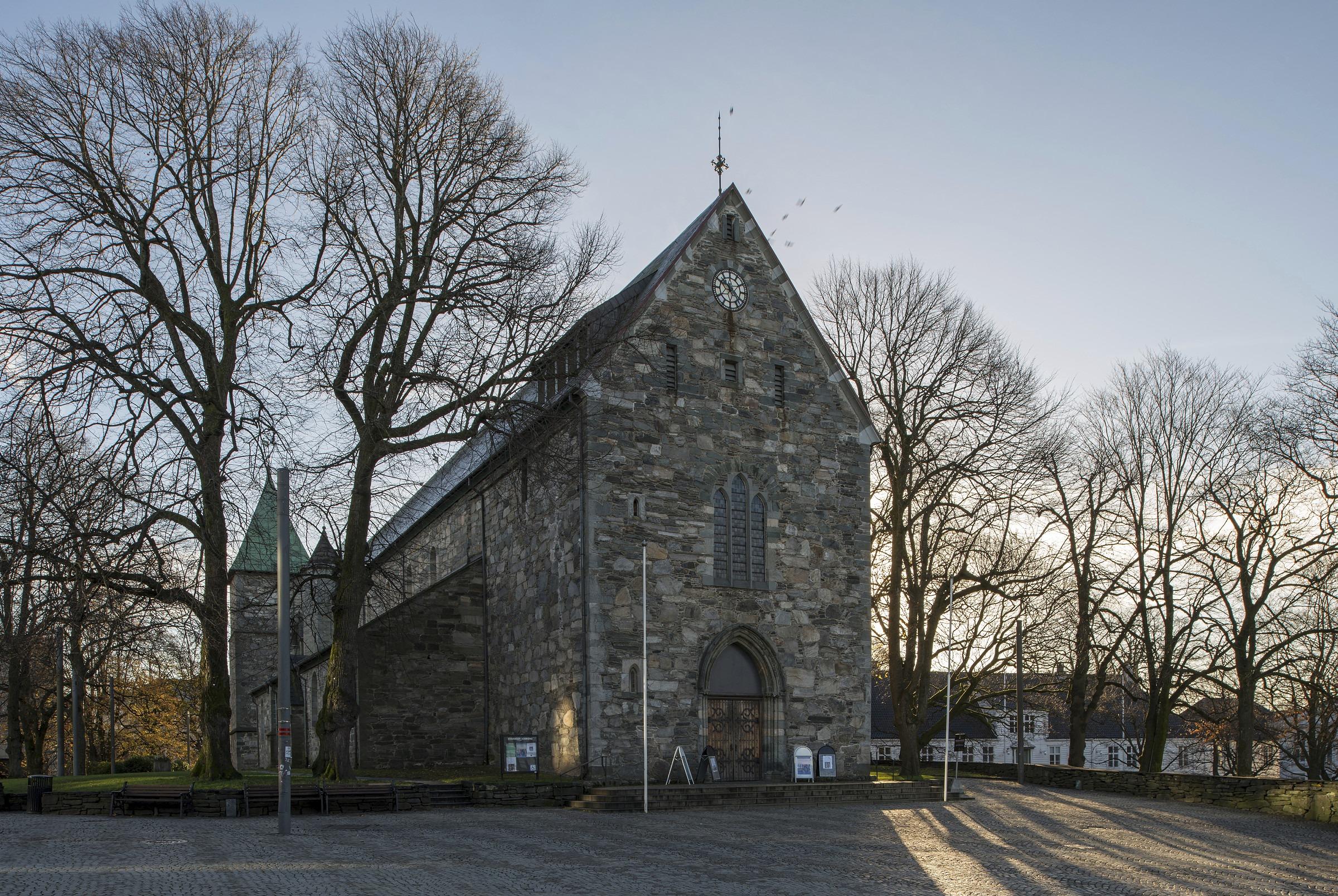 Stavanger domkirke eksteriør