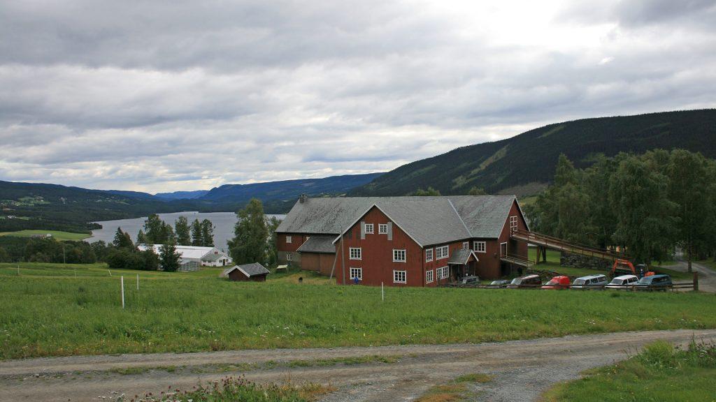 Bioforsk Øst på Løken, Øystre Slidre. Foto: Ragnhild Hoel, Riksantikvaren