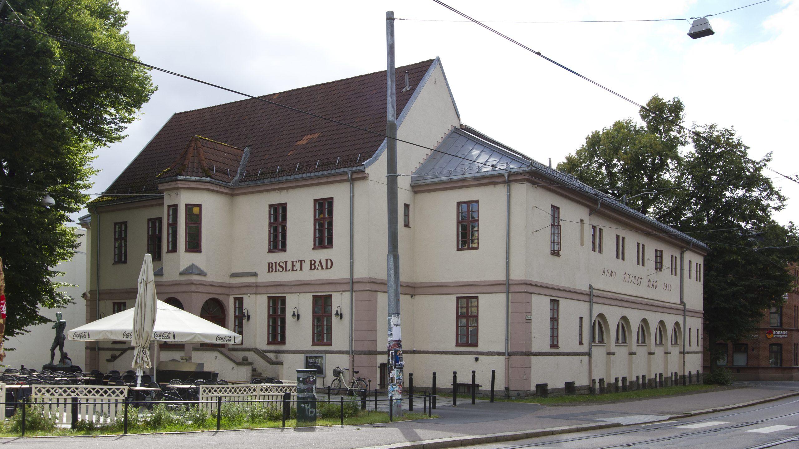 Bislet Bad i Oslo var Norges første svømmehall og ble regnet som Nordens største og vakreste anlegg da det stod ferdig. Foto: Dagfinn Rasmussen/Riksantikvaren