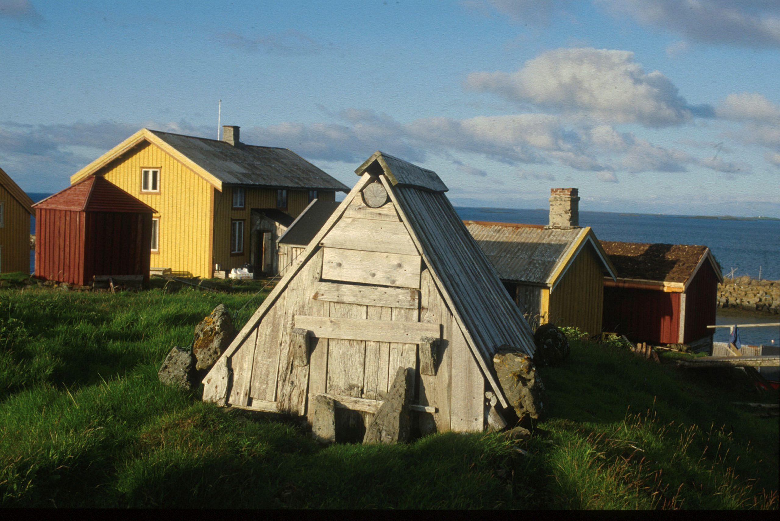 E-hus på Skjærvær