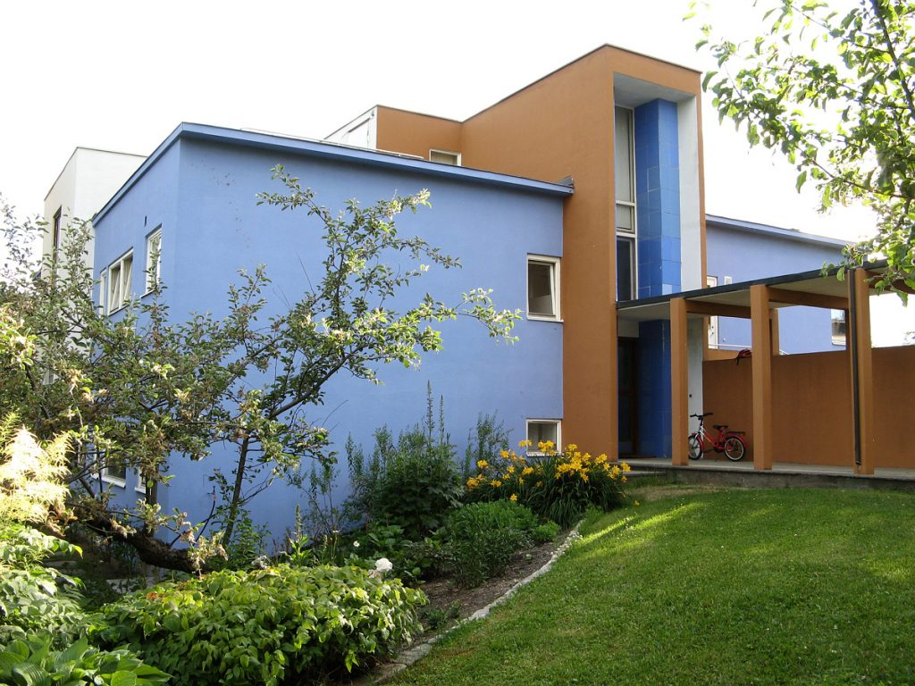 Funkisbygningen Villa Dammann. Foto: Mette Eggen, Riksantikvaren