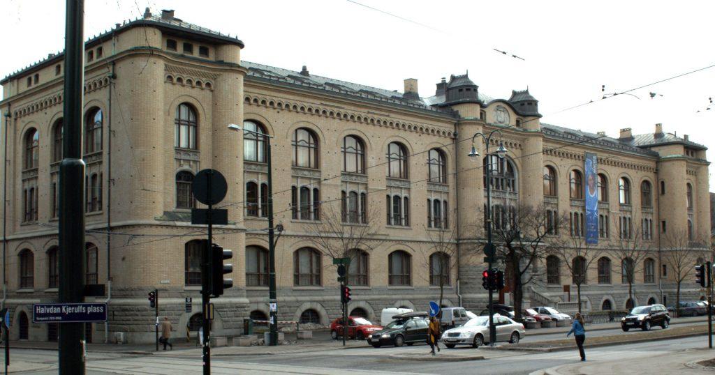 Historisk museum på Tullinløkka i Oslo. Foto: Trond Skovdal