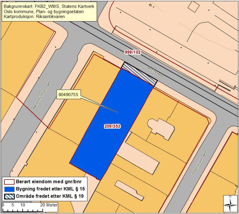 Kart Over Stortingsgaten 16