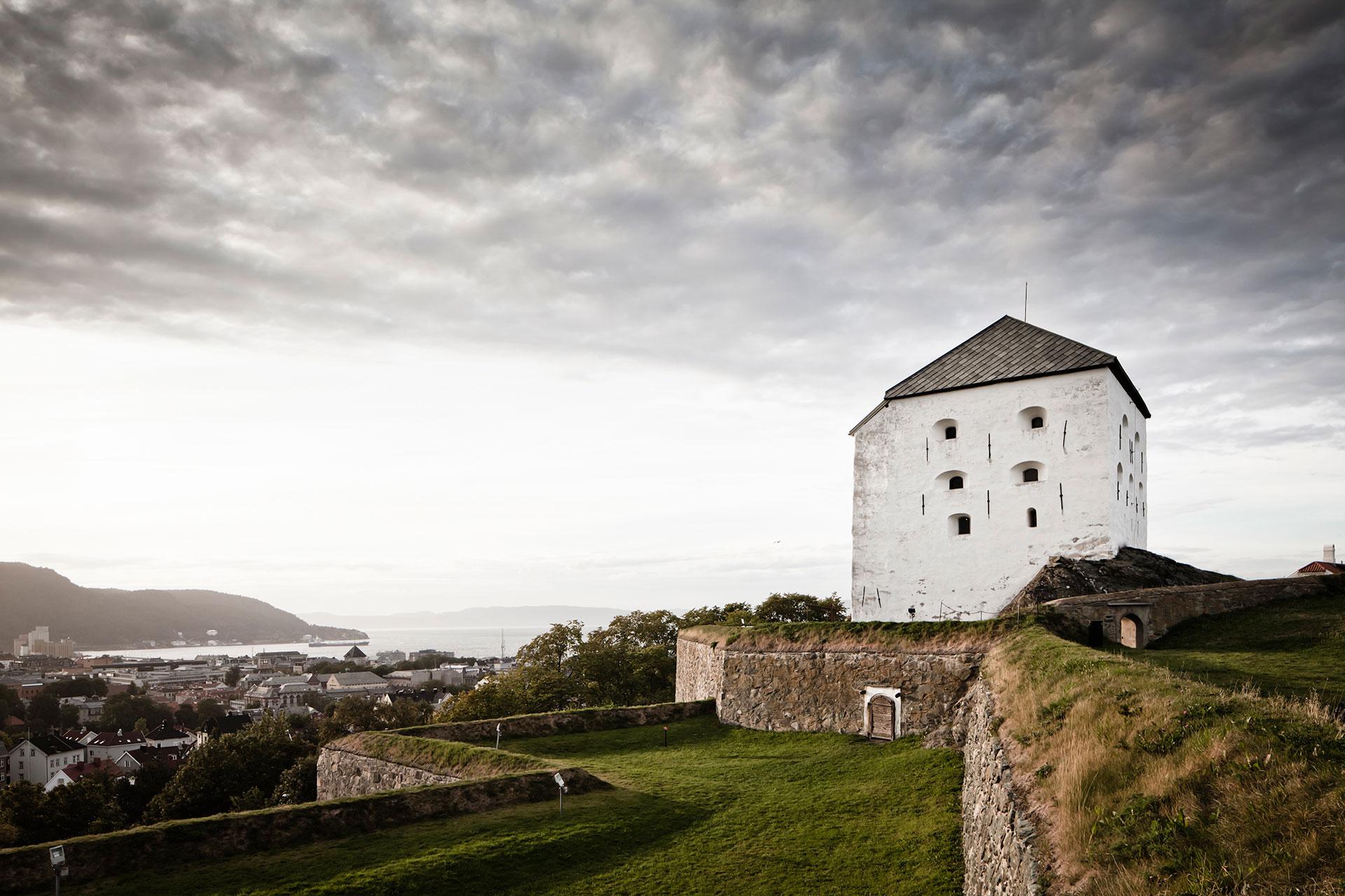 Kristiansten festning i Trondheim. Foto: Forsvarsbygg nasjonale festningsverk
