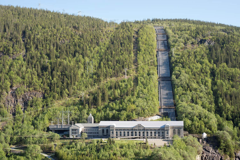 Vemork power station, Rjukan in Telemark. Photo: Per Berntsen