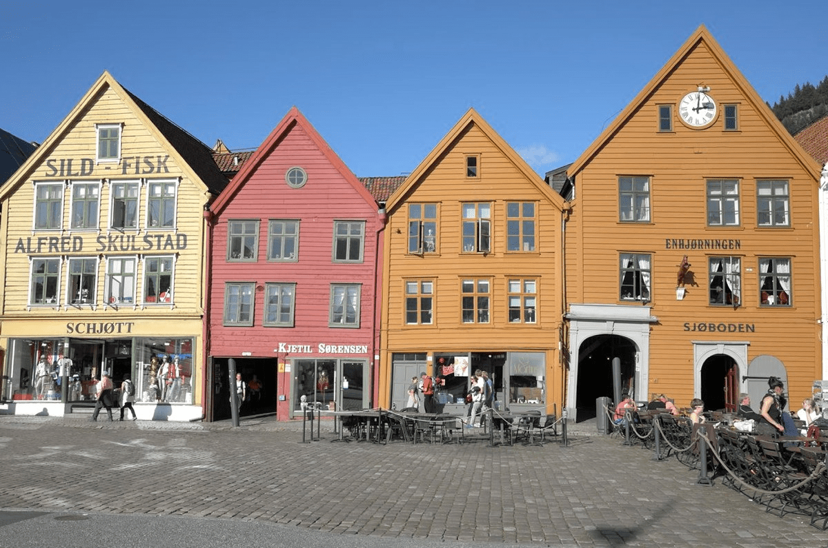 Bryggen in Bergen. Photo: Lene Buskoven, the Directorate for Cultural Heritage