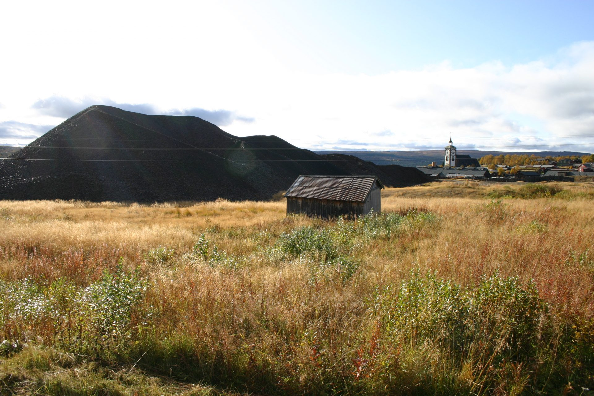 Roykskadehaga. From the beautiful heritage landscape featuring slag mounds near Røros. Lisen Roll, the Directorate for Cultural Heritage