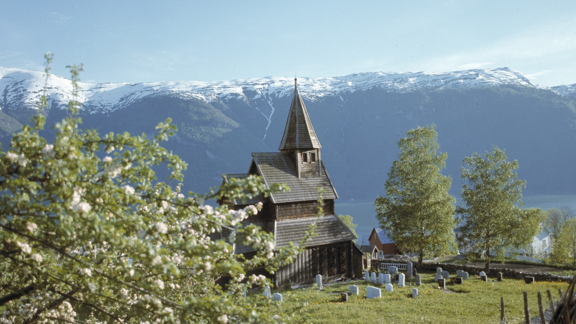 Photo of Urnes Stave Church. Photo by Håkon Christie, the Directorate for Cultural Heritage