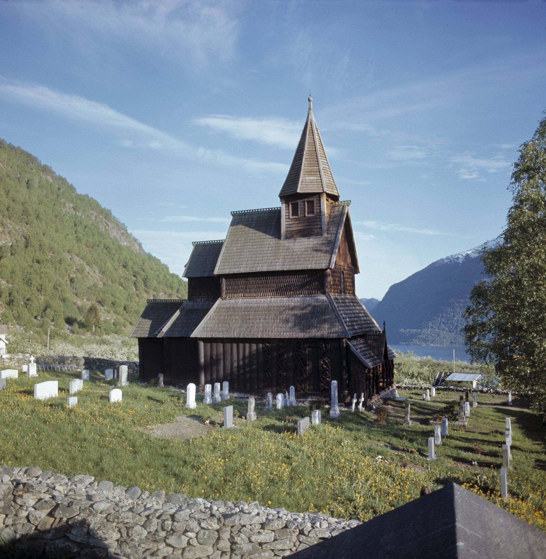 Picture of Urnes Stave Church in Luster in Sogn and Fjordane. Photo: Håkon Christie, the Directorate for Cultural Heritage