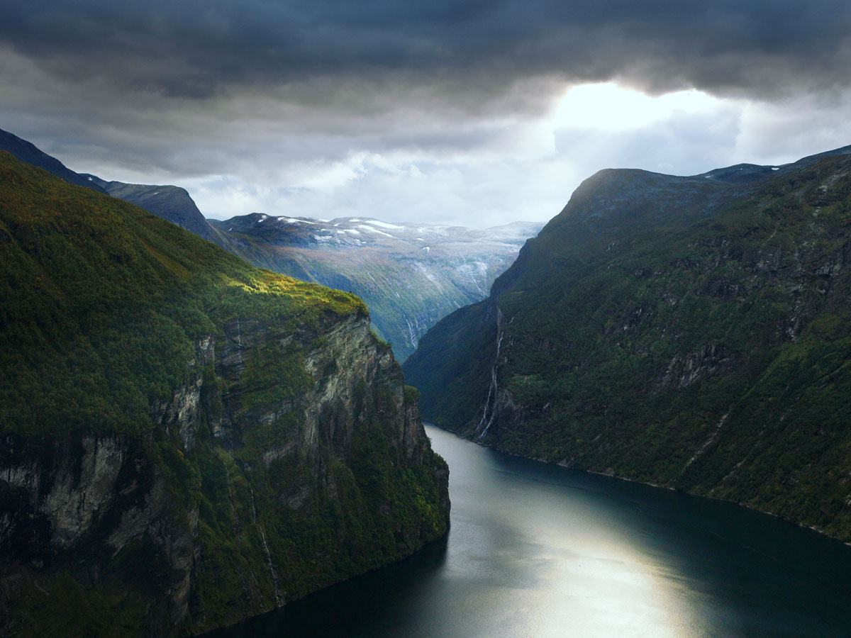 Photo of the West Norwegian Fjords. Photo by Werner Harstad, the Norwegian Public Roads Administration -Norwegian Scenic Routes website