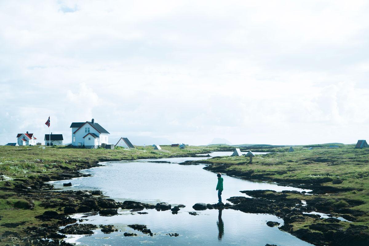 Fra Vegaøyan på Helgelandskysten i Nordland