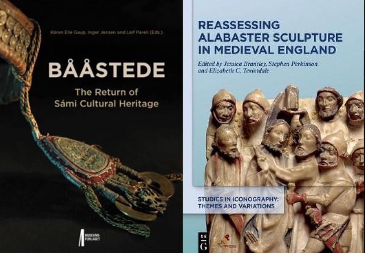 Bilde av bøkene Bååstede og reassesing alabaster