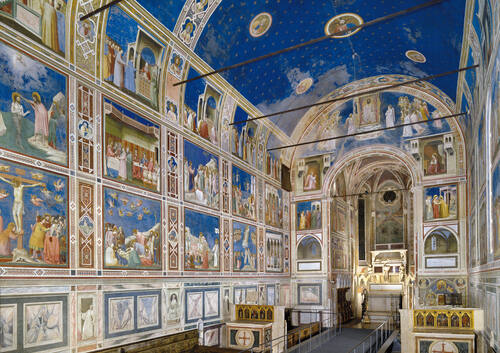 Freskene i Padova, Italia